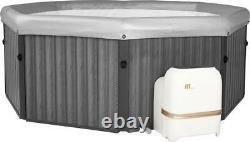 Mspa Frame Tuscany Bubble Spa Hot Tub Classic 6 Bathers Jacuzzi Quick Heating