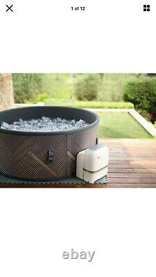 Mspa Inflatable Hot Tub 6 Person Pool Spa Massage Jacuzzi 2 Year Warranty