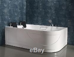 NEW 2018 WHIRLPOOL BATH 1700mm x 1200mm Jacuzzi JetsSORRENTO