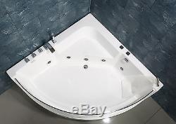 NEW 2018 WHIRLPOOL JACUZZI CORNER BATH JETS-1350mm x 1350mm-FREE DEL-VENICE
