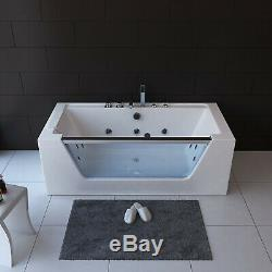 NEW 2019 WHIRLPOOL BATH 1800mm x 800mm-Jacuzzi Jets-Massage Spa-FLORENCE