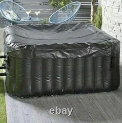 NEW HOT TUB 4 Person Inflatable Jacuzzi Spa Bubbles Square FREE P&P