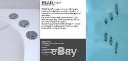 NEW Vitalia Hydro Spa Bath 1700mm x 750mm x 570mm Whirlpool bath -INSTOCK
