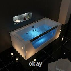 NEW WHIRLPOOL BATH-1700mm x 800mm-Jacuzzi Jets-Massage Spa-FLORENCE