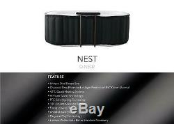 Nest 2 Bathers COUPLE Inflatable Hot Tub Spa Jacuzzi 2 Person Home Holiday