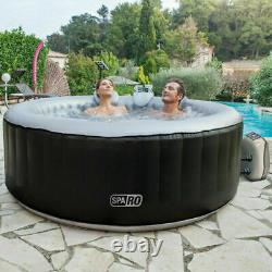 NetSpa Sparo Inflatable Round Hot Tub Spa Jacuzzi 125cm 2-3 Person Brand New