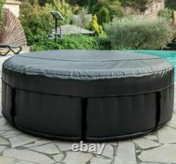 NetSpa Sparo Inflatable Round Hot Tub Spa Jacuzzi 125cm 2-3 Person read details