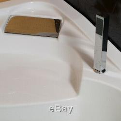 New 1500MM Whirlpool Spa Jacuzzis Massage Right Corner Bathtub 1510R