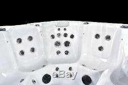 New Luso Spas Hydra Luxury Hot Tub Spa 6 Seat American Balboa Music Jacuzzi