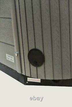 New Palm Spas Dual Lounger Hot Tub Spa 3 Seat Jacuzzi Balboa Music 13amp Plug