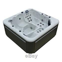 New Palm Spas Maya+ Jacuzzi Hot Tub Spa 5 Seats Balboa Music Bluetooth 32amp