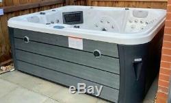 New Sunrise Luxury Hot Tub Spa 4 Seats Balboa American Jacuzzi Bluetooth Music