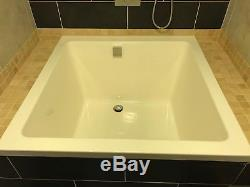 Omnitub Oriental Deep Soaking Japanese Style Bath 1050x1050x600 Plus Bath Fill