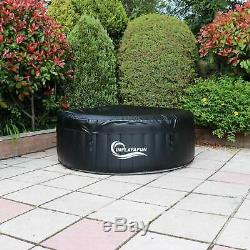 Outdoor Garden Portable Heated Inflatable Hot Tub Jacuzzi 2-4 Person Spa Bubble
