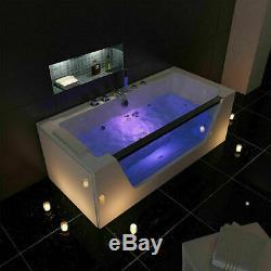 Person Whirlpool Bath Tub Jacuzzi Jets Back Massage Spa Shower 1700mm 1800mm