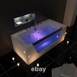 Platinum Spas Florence 1 Person Whirlpool Bath Tub 1700 x 750 x 600mm