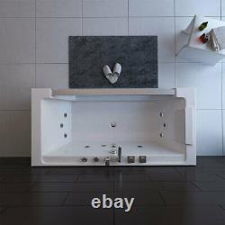 Platinum Spas Florence 1 Person Whirlpool Bath Tub 1800 x 900 x 600mm