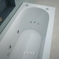 Rectangle Single End Whirlpool Bathtub 13 Jest Spa Jacuzzi Bath 1700700mm