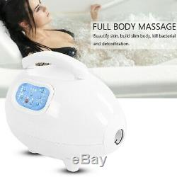Remote Control Digital Bath Spa Bubble Jets Machine Tub Massage Mat Waterproof