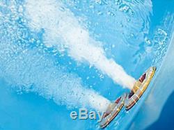 Round Whirlpool Bathtub With Massage+ Heater+ Light +Waterfall+ Ozone Round