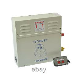ST-135M 9KW 220V Automatic Controller Steam Generator/Sauna Bath Home Spa Shower