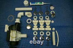 Spa/Whirlpool/Jacuzzi Bath DIY 10 Jet kit In Chrome (UK manufacturer)