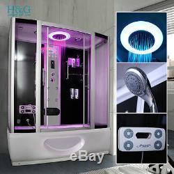 Steam Shower Bath No Whirlpool Jacuzzi Corner Cabin Cubicle Enclosure Room A1350