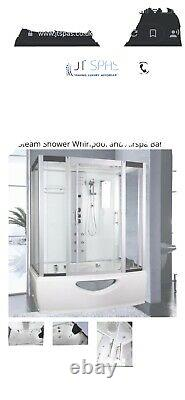 Steam Shower Whirlpool And Air Spa Bath