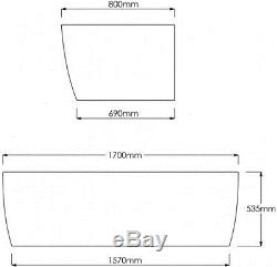TROJAN Curved Panel Designed to complement the Curve D Shape bath