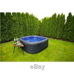 Tekapo 6 Bathers Inflatable Hot Tub Spa Jacuzzi Home Holiday Family Garden Fun
