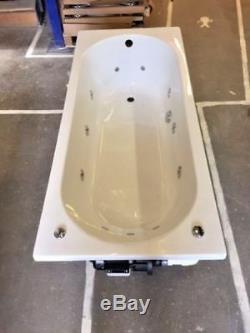Trojan Cascade 11 Jet Whirlpool Bath White Acrylic 1700 x 700 mm Jacuzzi Spa