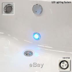 Trojan Elite Solo 1700 x 700mm 24 Jet Whirlpool / Jacuzzi Bath & LED Light