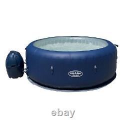 Used Unboxed Lay-Z Spa New York Inflatable Airjet Hot Tub Jacuzzi No Top Cover