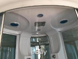 VASCA BAGNO DOCCIA IDROMASSAGGIO ANGOLARE MONTECARLO 150 X 150 cm SPA bath tub