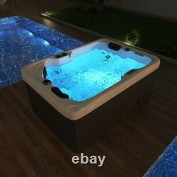 Virpol Outdoor Hot tub Thermostatic Spa Whirlpool 41 Jacuzzi Jets 2-3 Person