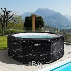 WAVE Jacuzzi 6-Person 120-Jet Inflatable Plug and Play Spa Hot Tub