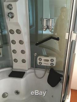 WHIRLPOOL BATH SHOWER Montecarlo SPA 150 x 150 cm HOT TUB BATHTUB