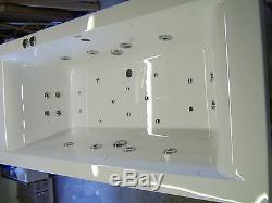 Whirlpool 28 Jet Combination system CUBE 1700 x 700 Bath Whirlpool/Airspa