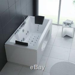 Whirlpool Bath 1700mm Jacuzzis Massage Corner 2 person Double Bathtub HAWAIIM