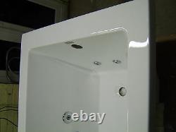 Whirlpool Bath CUBE 12 Jet Single end 1800 x 800 with Colour Changing Light