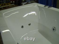 Whirlpool Bath CUBE design Double End 1800mm x 800mm 10 Jets