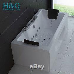 Whirlpool Bath Shower Spa Jacuzzi Massage 2 Person Bathtub 1700MM MODEL  6132M