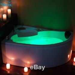 Whirlpool Corner Bath Jacuzzis Massage One Person Spa Bathtub 1510L 1500mm