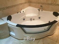 Whirlpool Corner Bath & Spa