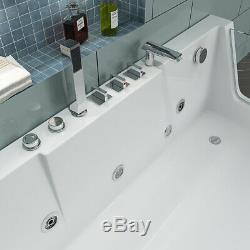Whirlpool Eckbadewanne Badewanne Wanne Pool Thermostat Spa Heizung Acryl