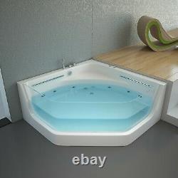 Whirlpool Eckbadewanne Pacifico Badewanne Wanne Pool Massage Spa Badezimmer