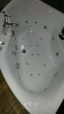 Whirlpool PARIS 1400 x 1400 Bath 24 Jet Hydro system & Colour Changing Light