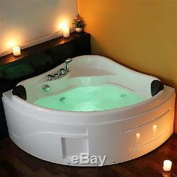 Whirlpool Shower Bath Jacuzzis Massage Spa Corner 2 person Double Bathtub 1300mm