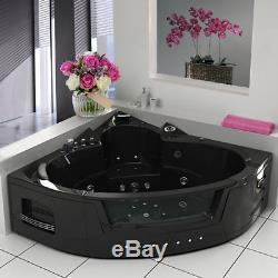 Whirlpool Shower Spa Jacuzzis 22 Massage Jets Corner 2 person Bathtub NO PRAGUE