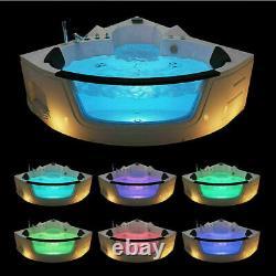 Whirlpool Spa Bath Jacuzzis Massage Corner Double Ended 2 person Bathtub 1350mm
